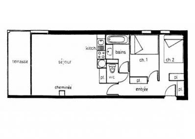 plan appartement 50 m
