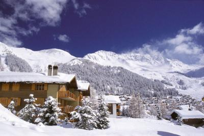 Verbier - winter panorama