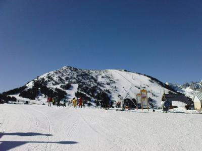 Ax 3 Domaines - winter panorama 