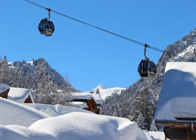 Valfr�jus - cable car