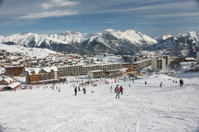 La Toussuire -  and ski run