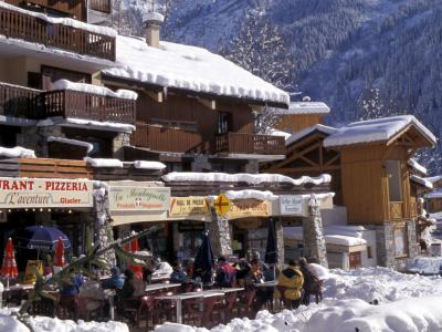 Champagny - restaurant 