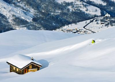3 Vall�es - off-piste skiing