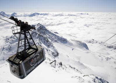 Alpe d'Huez - cable car