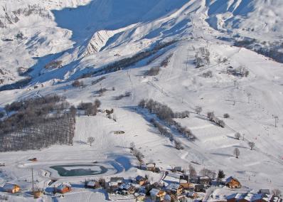 Albiez-Montrond -  от птичи поглед