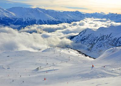 Aussois - ski run