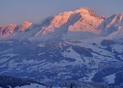 Evasion Mont-Blanc - Panorama muntelui