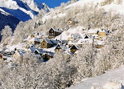 Saint-Lary - Lyžiarske stredisko