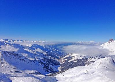 M�ribel - ski run and ski resort