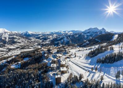 Pra Loup - Dağ manzaralı