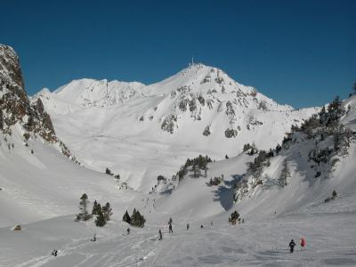 Tourmalet La Mongie - downhill ski run