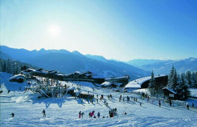 Les Arcs 1800 -  and ski run