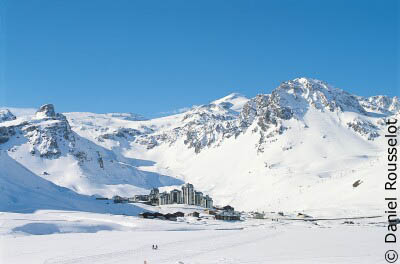 Tignes - ski resort