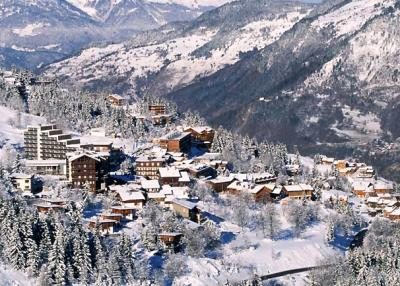 Courchevel 1550 - ski resort 