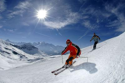Grand Massif - skiing
