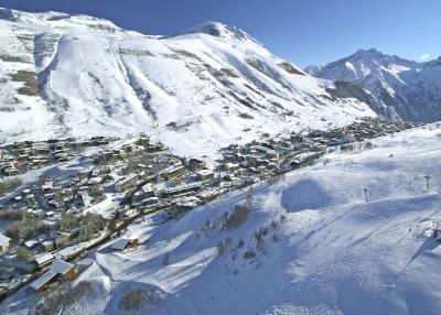 Deux Alpes - bird's-eye view