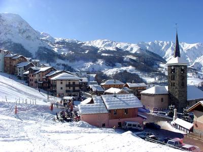 Saint Martin de Belleville - Trasa narciarska i teren narciarski