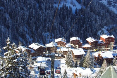 Valfr�jus - ski resort
