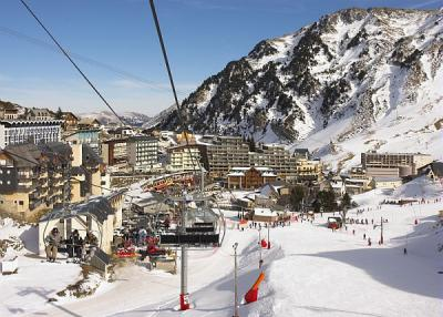 La Mongie - ski resort