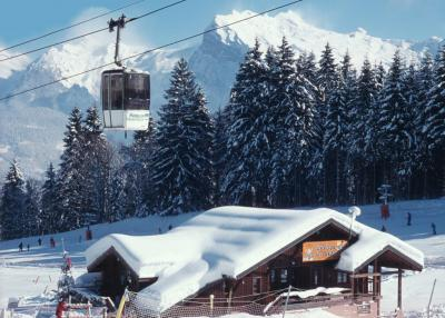 Morillon - cable car