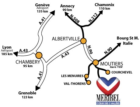Access plan Mribel