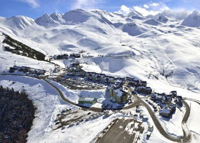 Peyragudes - bird's-eye view
