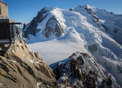 Chamonix - mountain panorama