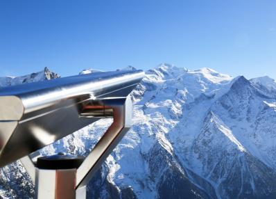 Argentière - kalnų panorama