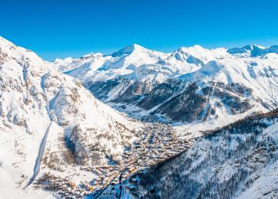 Val d'Isère - лижня місцевість