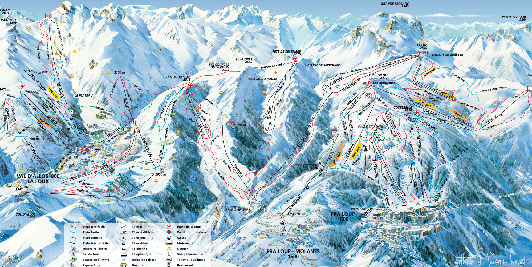 Val D Allos La Foux Book Apartments And Chalets With Ski France Com