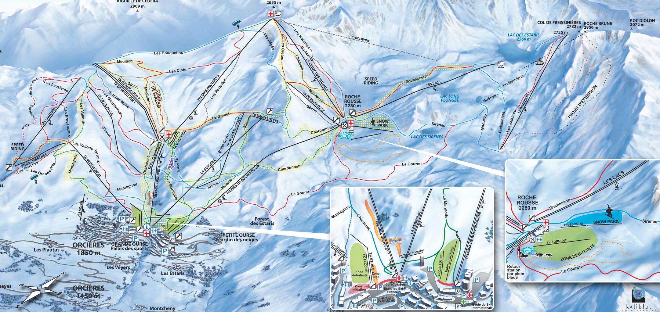 serre chevalier piste map pdf