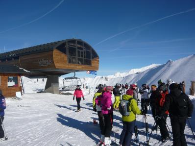Valfr�jus - ski area