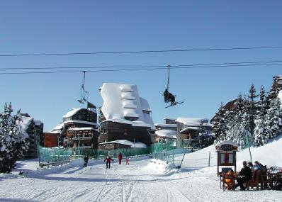 Avoriaz 1800 - chair lift