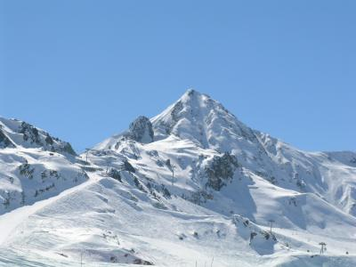 Paradiski - mountain panorama