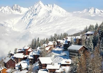 Plagne 1800 - ski resort