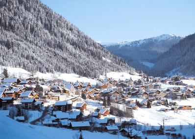 Ch�tel - ski resort