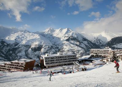 Les Arcs 1600 - ski run and ski resort