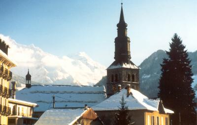 Saint Gervais - village church