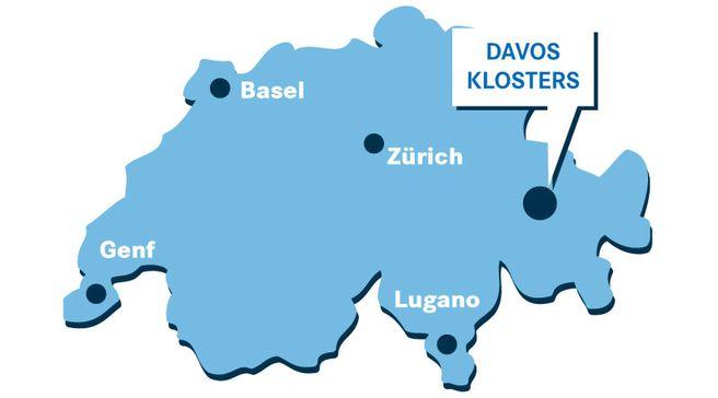 Como chegar Klosters