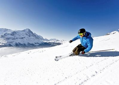 Jungfrauregion - Sciatori