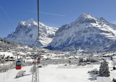 Wengen - cable car