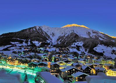 Klosters - Klosters at night