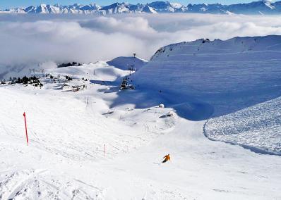 Saanen - ski run