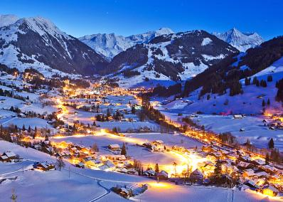 Gstaad - Gstaad at night
