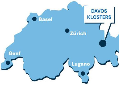 Come raggiungere Davos
