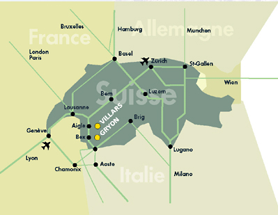 Access plan Villars