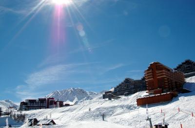 Aime La Plagne - χιονοδρομικός σταθμός