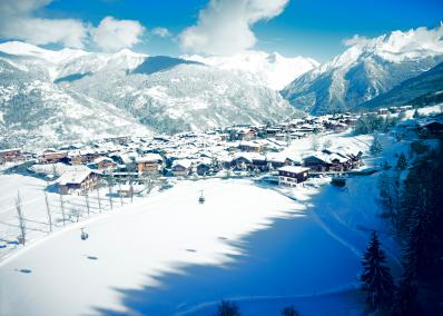 Courchevel 1300 - Skiort