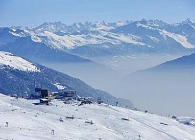 Flims-Laax - ski run