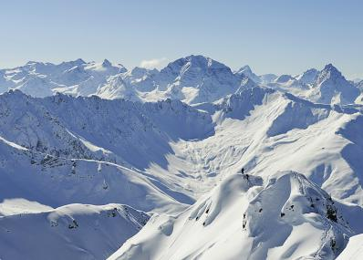 Davos Klosters - Vista sulle montagne